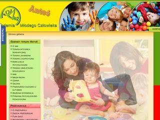 Antoś – przedszkole dla dzieci z autyzmem w Warszawie