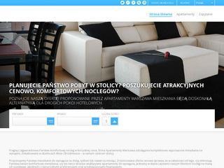 Firma oferująca mieszkania do wynajęcia – Warszawa