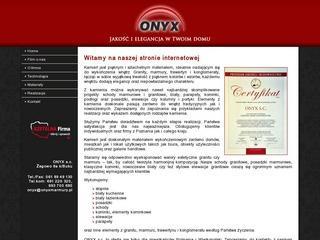 ONYX – granitowe kominki w Poznaniu