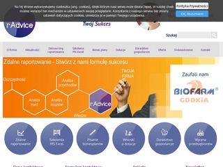 Firma rAdvice – konsulting gospodarczy w Poznaniu