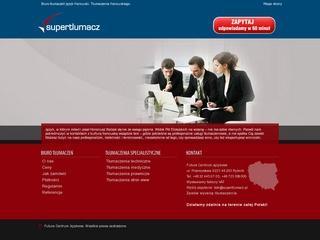 Tłumaczenia francusko polskie - teksty medyczne, prawnicze, techniczne